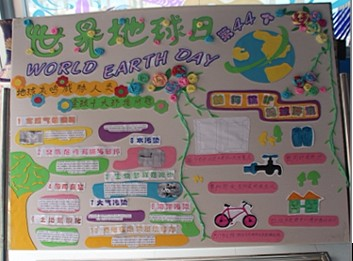 幼儿园大班主题墙展板